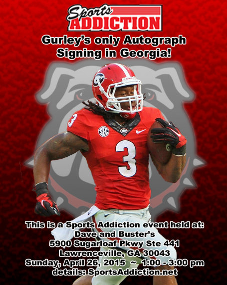 Gurley Signing